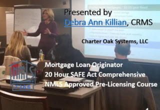 20 Hour FEDERAL SAFE NMLS PE ID#7366 Mortgage Loan Originator Trial