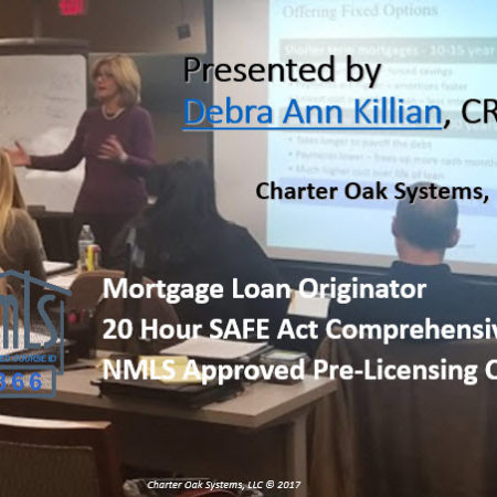 20 Hour FEDERAL SAFE NMLS Review Course
