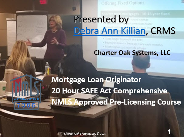 20 Hour Safe Act NMLS