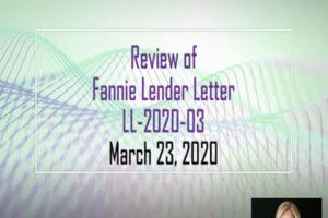 Fannie Mae 2020 Update