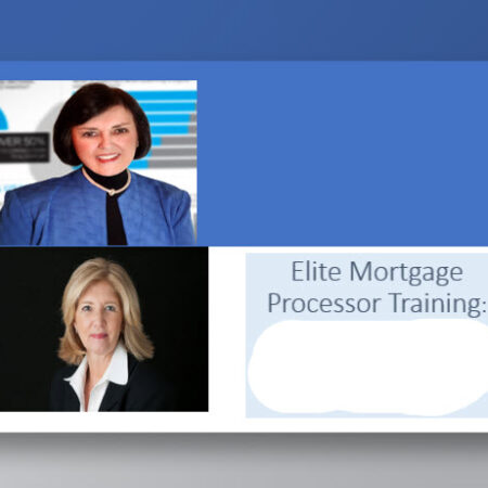 Elite Mortgage Processor Training